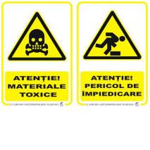 Indicatoare de securitate de avertizare