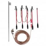 Scurtcircuitor polifazat pentru LEA JT cu conductoare neizolate