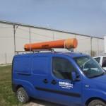 Tub pentru transportul prajinilor si scurtcircuitoarelor pentru LEA MT