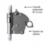 Opritor de cadere cu alunecare, model detasabil tip AC 040 (D=12mm)