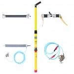 Dispozitiv pentru descarcarea condensatorilor de medie tensiune